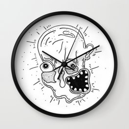 What's Happening to Me Wall Clock