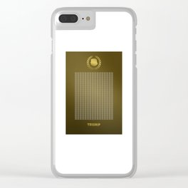 To Clap, or Not To Clap for Trump? Clear iPhone Case