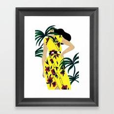 Proenza Schouler Spring 2017 Framed Art Print