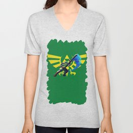 The Legend Of Zelda Sword Unisex V-Neck