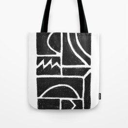Charcoal Pattern Tote Bag