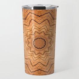 Wooden star ring kaleidoscope Travel Mug
