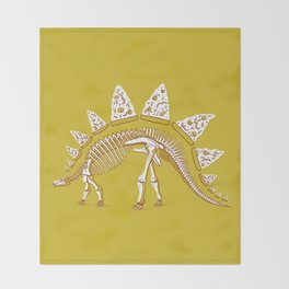 Pizzasaurus Awesome! Throw Blanket