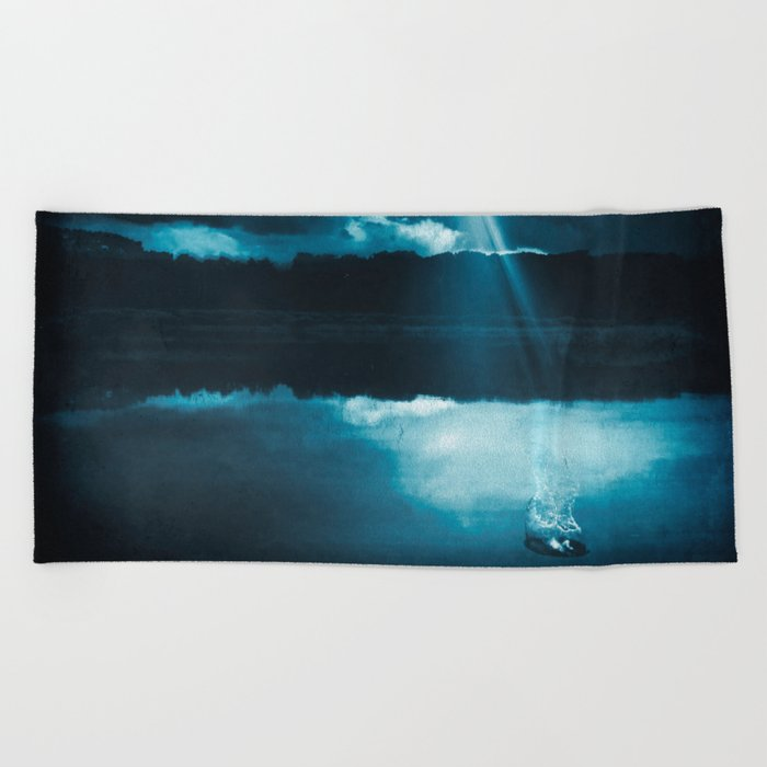 Don't be Afraid.. Beach Towel