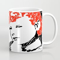 lucy Mugs featuring Lucy by Rucifer
