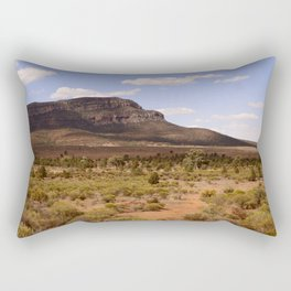 Rawnsley Bluff in the Australian Flinders Ranges Rectangular Pillow