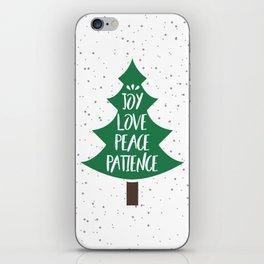 Tree of Christmas Present iPhone Skin