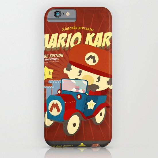 mario kart vintage iPhone & iPod Case