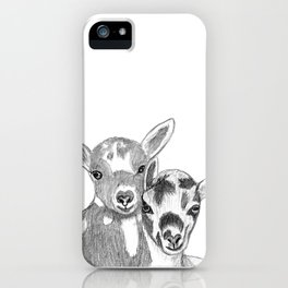 goats iPhone Case