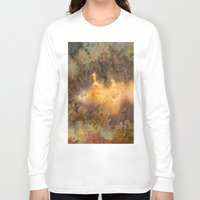 30 rock Long Sleeve T-shirts featuring Idaho Gem Stone 30 by Leland D Howard