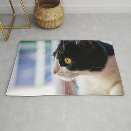 Cat by Dave Sandoval Rug