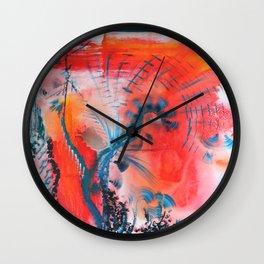 Joyous Lines Wall Clock