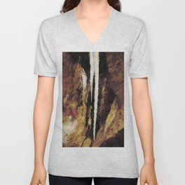 Icicle Abstraction Unisex V-Neck