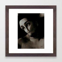 Portrait Of Me Framed Art Print