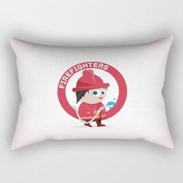 Firefighter Rectangular Pillow