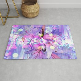 LILY IN LILAC AND LIGHT Rug