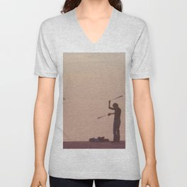 Lonely Unisex V-Neck