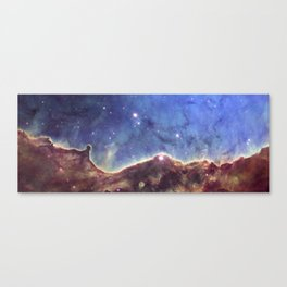 """Glowing"" nebula Society6 planet prints Canvas Print"