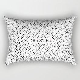 Yoga Meditation Art Print Rectangular Pillow