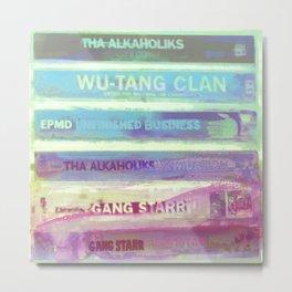 Hip Hop Tapes 6 Metal Print