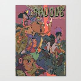 Rauque Canvas Print