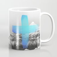 mountains Mugs featuring Mountains by Amy Hamilton