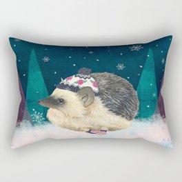 Warm Winter Wishes Rectangular Pillow