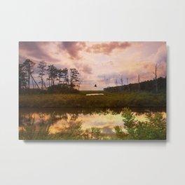 Refuge Sunset Metal Print