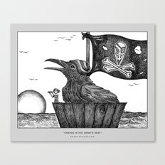 Draven in the Crow's Nest Canvas Print