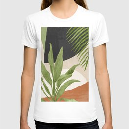 Abstract Art Tropical Leaf 11 T-shirt