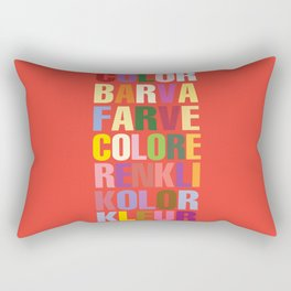 Colour Rectangular Pillow