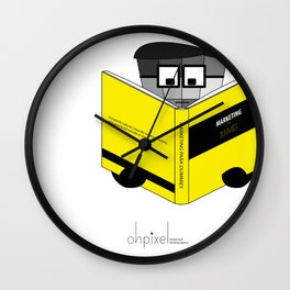 Marketing for Dummies! Wall Clock