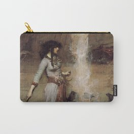 The Magic Circle, John William Waterhouse. Carry-All Pouch