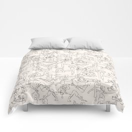 Yoga Manuscript Comforters