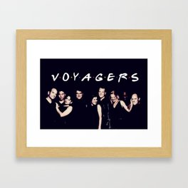 Friends and Voyagers Framed Art Print
