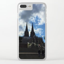 Gothic Cathedral in Cologne, Germany Clear iPhone Case