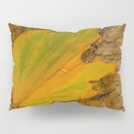 Yellow Leaf Pillow Sham
