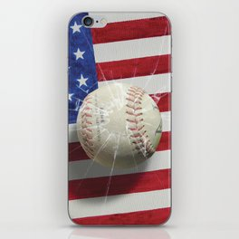 Baseball - New York, New York iPhone Skin