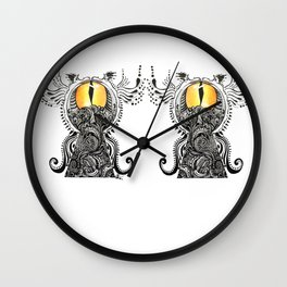 Saffron Stare Wall Clock