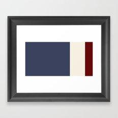 Comp Framed Art Print