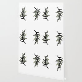 Sprig of Leaves - Katrina Niswander Wallpaper