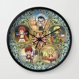 Free! Arabian Wall Clock