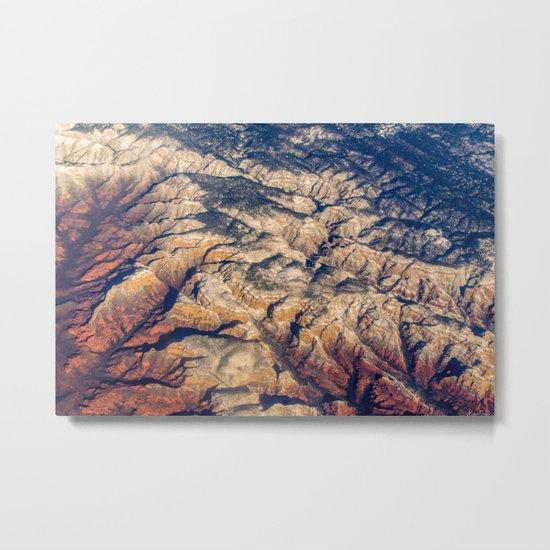 Mars or Earth Metal Print