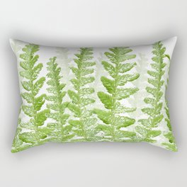 Green Fern Group Rectangular Pillow