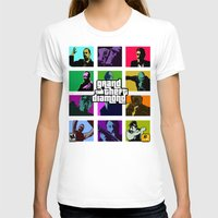 grand theft auto T-shirts featuring Grand Theft Diamond Snatchers by Ant Atomic