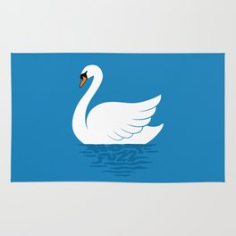 Just The One Swan Actually Rug