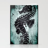 sea horse Stationery Cards featuring Sea Horse by Bella Blue Photography