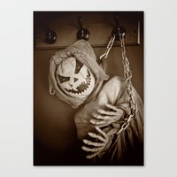 Hanging Jack Canvas Print
