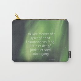 God morgen, far og mor Carry-All Pouch