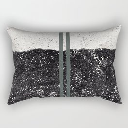 Stone and Splatter Rectangular Pillow